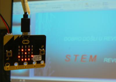 Drugi dan radionica za mentore CM lige i STEM revolucije o korištenju micro:bita