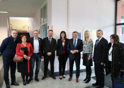 Micro:bitovi u praksi, posjet ministrice Blaženke Divjak OŠ Eugena Kvaternika, Velika Gorica