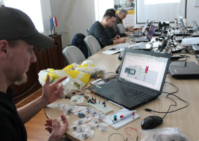 Napredne 'Internet of Things' tehnologije – pregled prvog tjedna naprednih radionica za mentore
