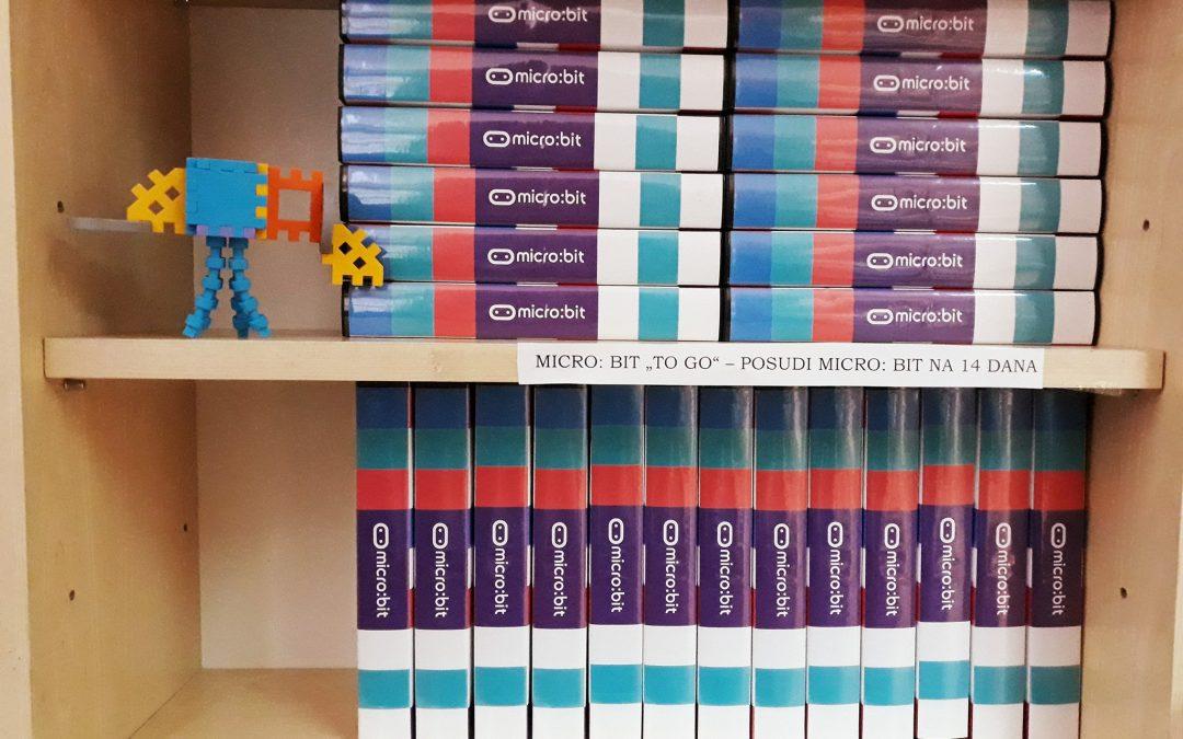 Micro:bitovi u knjižnicama – objave