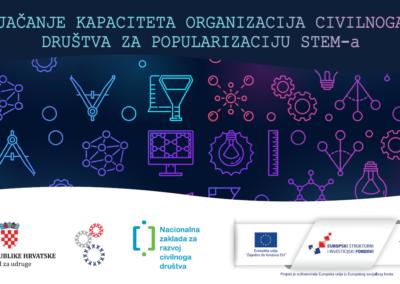 """IRIM-ov projekt """"STEM u zajednici"""" financiran kroz Europski socijalni fond"""