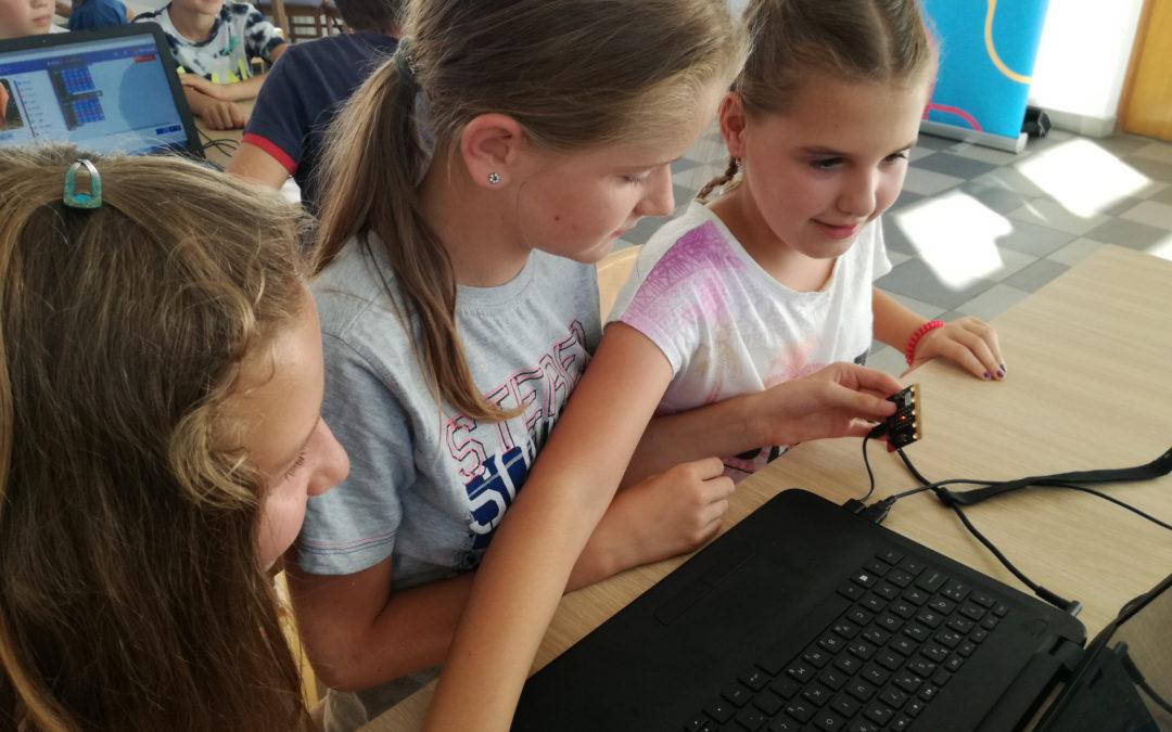 Ljetni STEM auto – pregled prvog i raspored radionica za drugi tjedan, izvještaj 6. dana