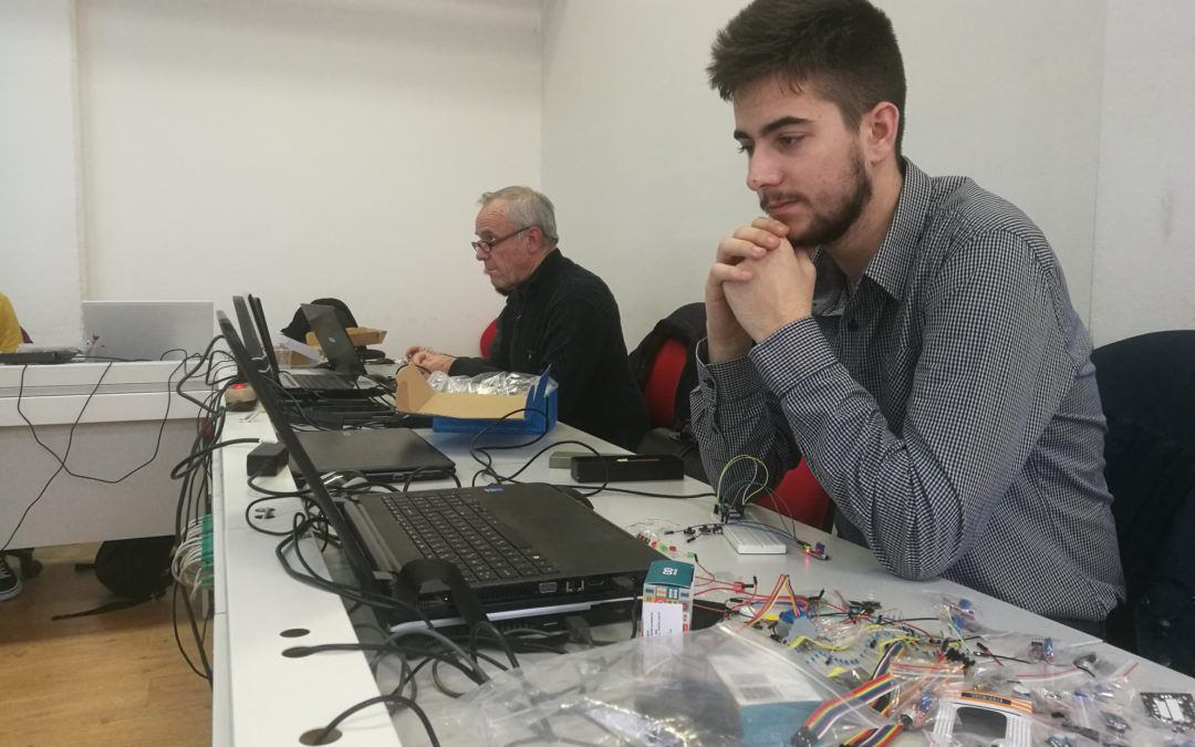 Pregled naprednih radionica za mentore projekta Napredne 'Internet of Things' tehnologije