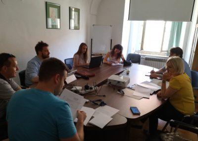 Prvi sastanak Radne skupine za Fakultet organizacije i informatike (FOI)