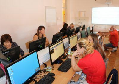 Zadnji ciklus edukacije za nastavnike u OŠ Klinča Sela i predstavljanje projekta