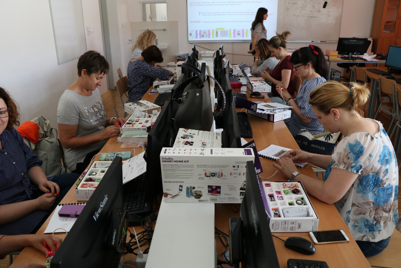 Radionice za nastavnike i stručne suradnike o LittleBitsima