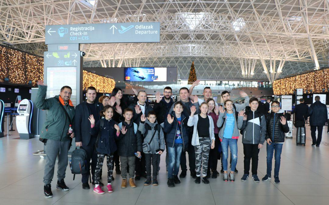 Odlazak hrvatskih timova na svjetsko natjecanje MakeX u Kinu