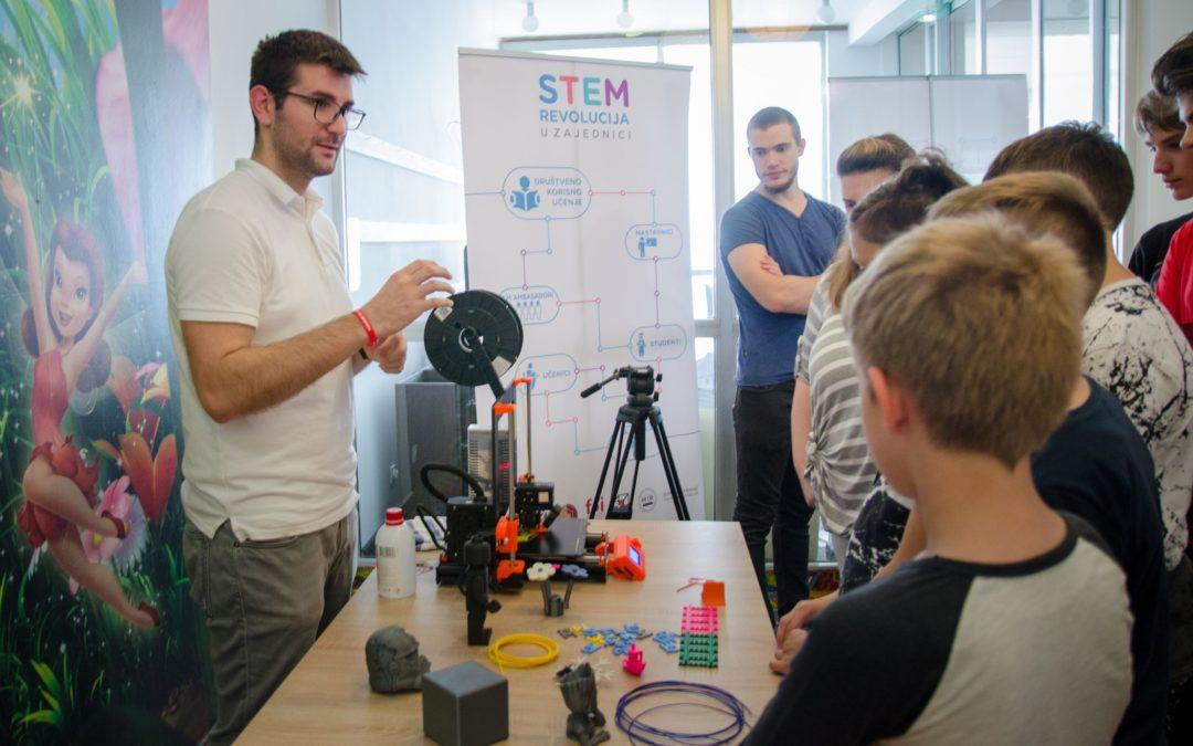 Robotički kamp za sudionike projekta STEM revolucija u zajednici