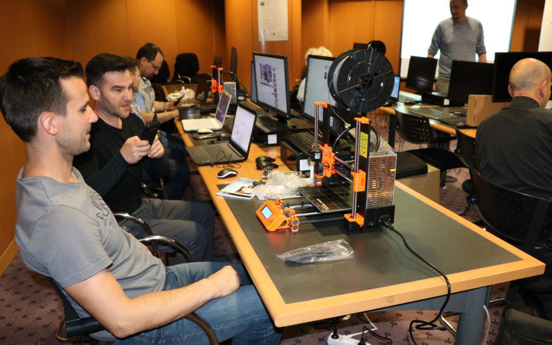 Odabrane knjižnice za donaciju 3D printera u projektu Digitalni građanin