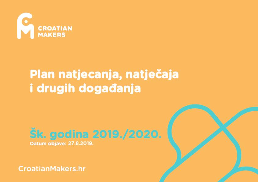 Plan natjecanja, natječaja i drugih događaja IRIM-a u šk. god. 2019./20.