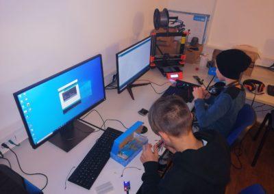 STEM u SOS Dječjem selu – edukacija o 3D pisačima i Croduino opremi