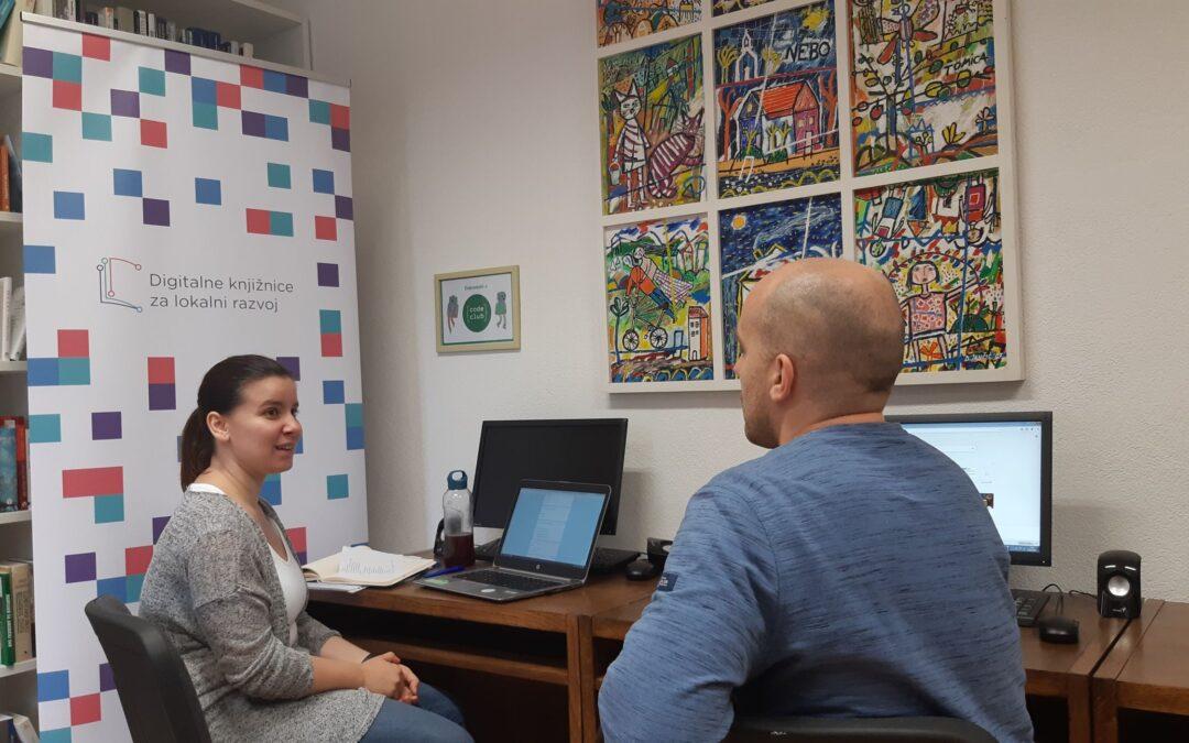 Digitalne knjižnice za lokalni razvoj – donacija priručnika i početak edukacije knjižničara