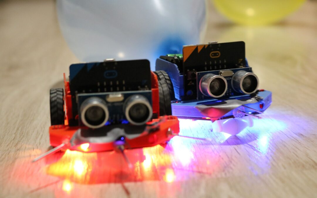 Pobjednici natječaja s micro:Maqueen robotima i BOSON kompletima