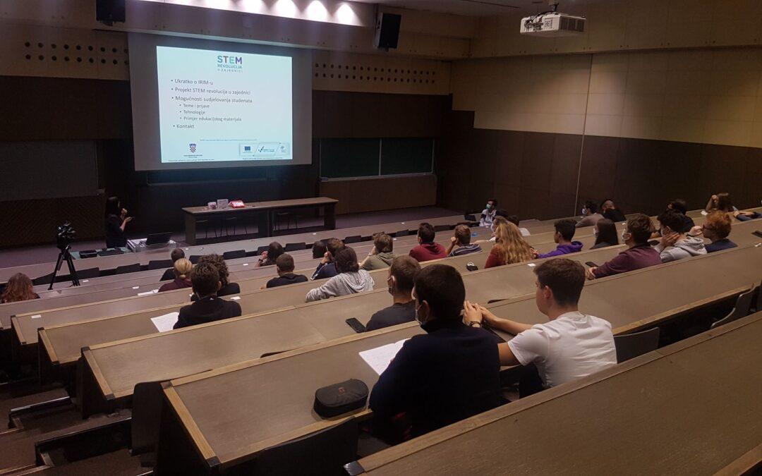 STEM revolucija u zajednici – 3. godina suradnje s Fakultetom elektrotehnike i računalstva